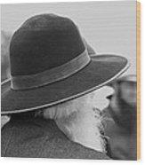 Amish Faces Wood Print