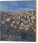 Amman Down Town Wood Print