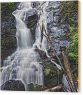 Ammons Falls Wood Print