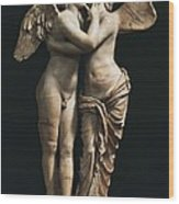 Amor And Psyche. 1st C. Hellenistic Wood Print
