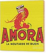 Amora Wood Print