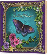 Amore - Butterfly Version Wood Print
