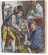 Amputation, 1540 Wood Print