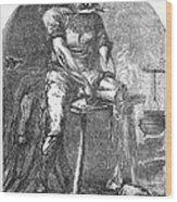 Amputation, 1865 Wood Print
