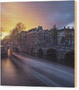 Amsterdam - Keizersgracht Wood Print