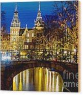 Amsterdam-rijkmuseum Wood Print