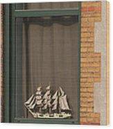 Amsterdam Window  #6 Wood Print