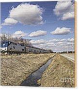 Amtrak 66  Wood Print