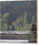 Amtrak Westbound Wood Print