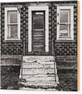 An America Home Wood Print