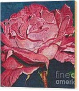 An American Beauty Wood Print