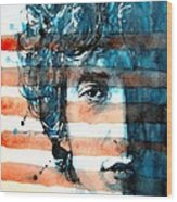 An American Icon Wood Print by Paul Lovering