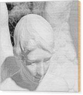 An Angel  Wood Print