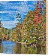 An Appalachian Shangri La Wood Print