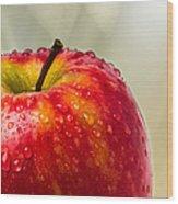 An Apple A Day Wood Print