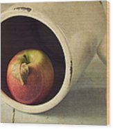 An Apple A Day... Wood Print by Amy Weiss