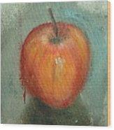 An Apple Wood Print