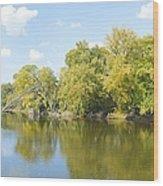 An Autumn Day Panoramic Wood Print