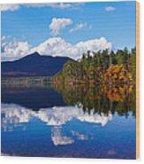 An Autumn Evening On Lake Chocorua Wood Print