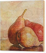 An Autumn Harvest II Wood Print