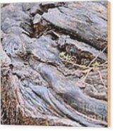 An Earthen Abstract Wood Print