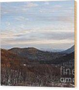 An Elk Knob View Wood Print