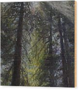 An Enchanted Forest Wood Print