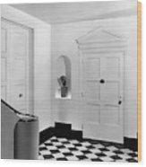 An Entrance Hall Wood Print