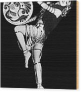An Exotic Russian Dancer Wood Print by Underwood Archives