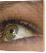 An Eye For Beauty Wood Print