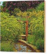 An Impressionists View Wood Print