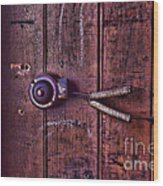 An Old Doorbell Wood Print