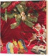 An Old Fashioned Christmas - Santa Claus Wood Print