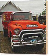 An Old Gmc  Wood Print by Jeff Swan