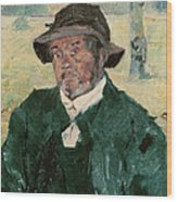An Old Man, Celeyran, 1882 Oil On Canvas Wood Print