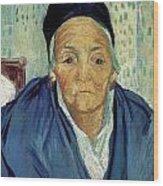 An Old Woman Of Arles Wood Print