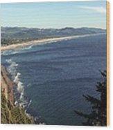 An Oregon View Point Wood Print