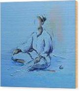 Ana Shiro Wood Print
