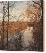 Anacostia River 6457 Wood Print