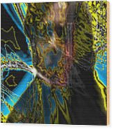 Analysis Paralysis Wood Print