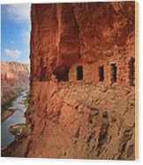 Anasazi Granaries Wood Print