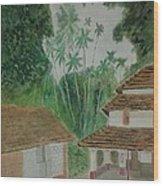 Ancestral House Wood Print