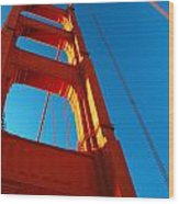Anchor Of The Golden Gate Wood Print
