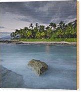 Anchor Of The Sea At Koolina Wood Print