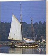 Anchorage Wood Print