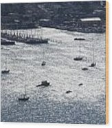 Anchorage Off Of Sausalito Wood Print