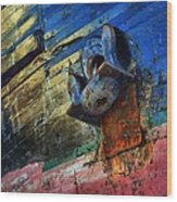 Anchored In Change Wood Print