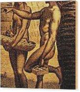 Ancient Chamorro Society 2 Wood Print