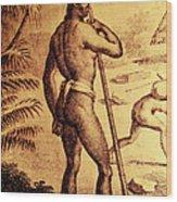 Ancient Chamorro Society 3 Wood Print