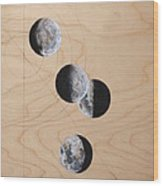Ancient Circles Wood Print